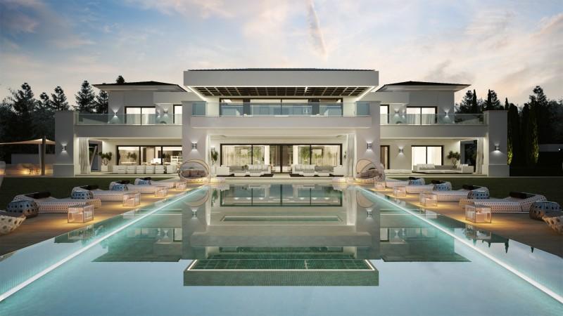 Villa avec piscine espagne mon regard sur le voyage et for Maison avec piscine a debordement