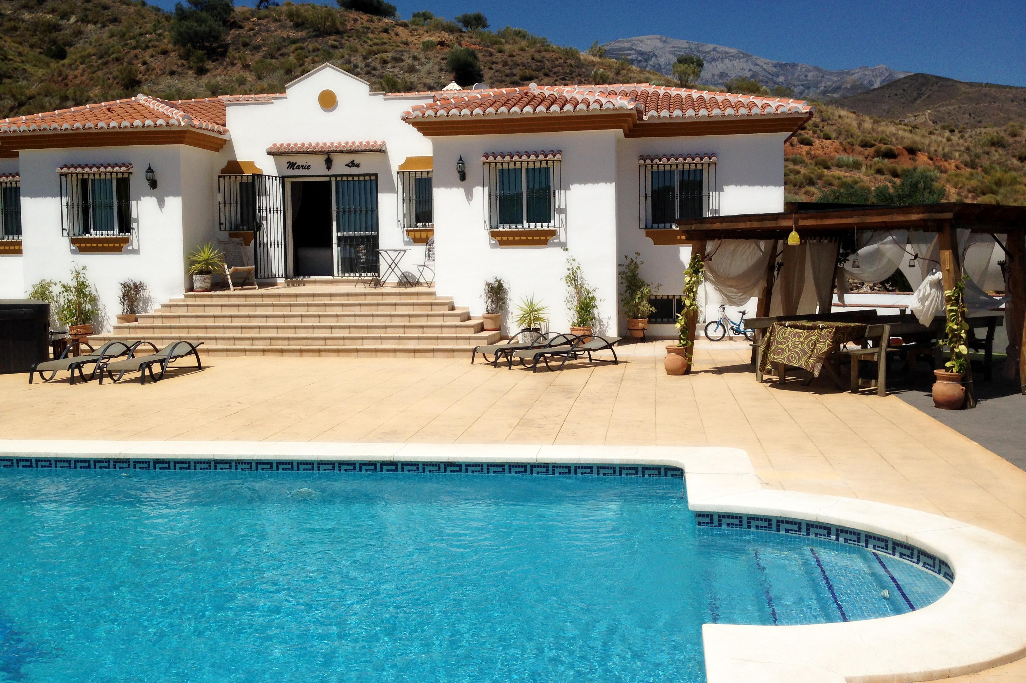 Location maison avec piscine espagne mon regard sur le - Villa piscine privee ...
