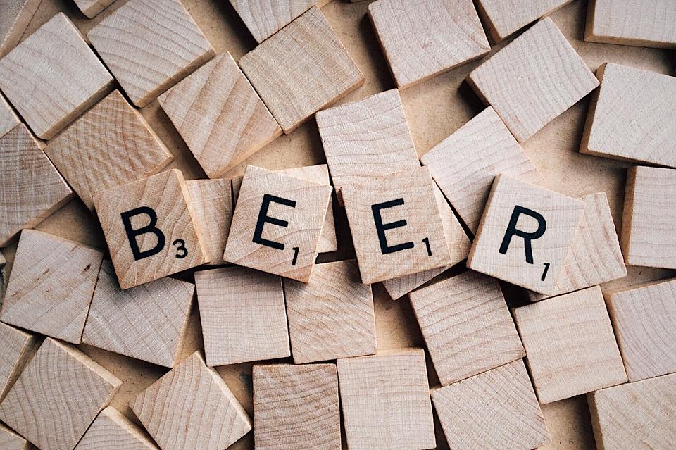 Boutique de vente de bière